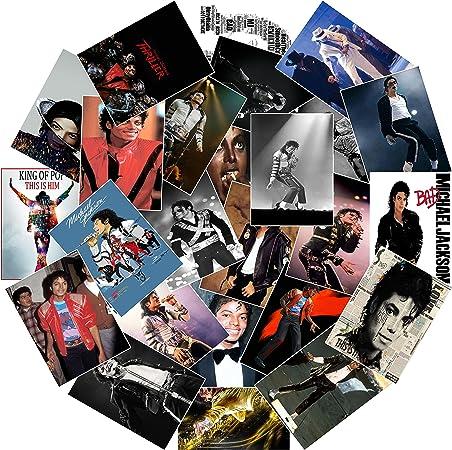 King of Pop~THRILLER~Bad~Vinyl Waterproof Decals B MICHAEL JACKSON  Stickers