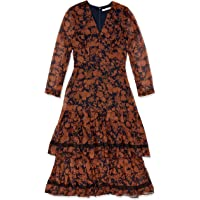 Cooper St Women's Chelsea Long Sleeve Tiered MIDI Dress