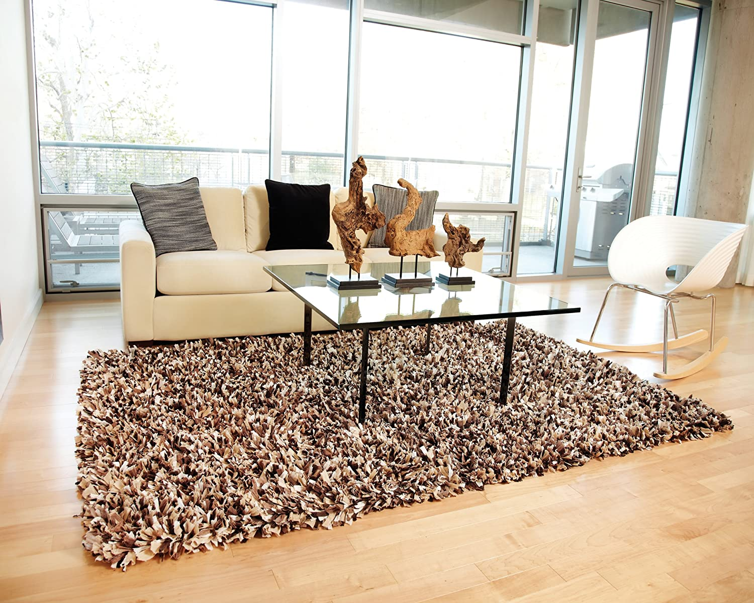 Amazon.com: Anji Mountain AMB0452 0058 Paper Shag Rug, Confetti, 5 X  8 Feet: Kitchen U0026 Dining Part 78