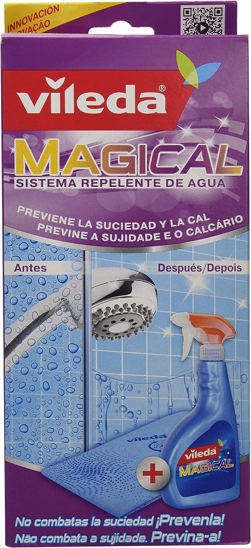 Vileda - Sistema Magical repelente de agua (líquido + bayeta) 500 ml - Pack de 3 (Total 1500 ml): Amazon.es: Salud y cuidado personal
