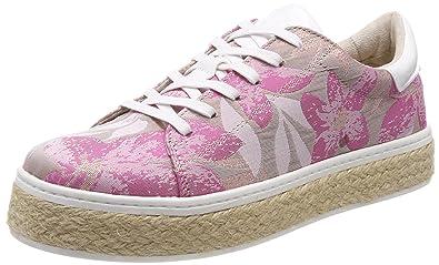s.Oliver Damen 23654 Sneaker, Pink (Rose Multi), 36 EU