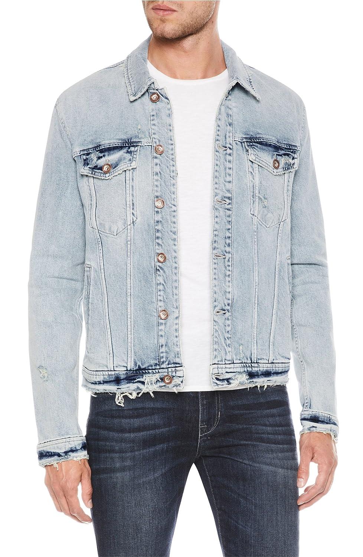 [ジョーズ] メンズ ジャケットブルゾン Joe's Rogue Denim Jacket [並行輸入品] B07FHLLT3F  Large