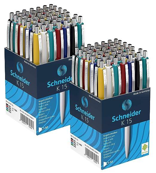 5x Schneider Kugelschreiber Perlia bronze XB Schreibfarbe blau 139607 NEU/&OVP