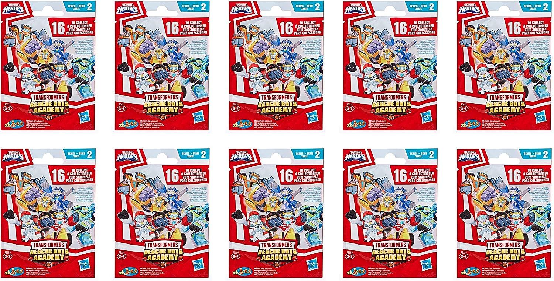 Transformers Rescue Bots Academy Series 2 - Bolsa para sorpresas (10 unidades)