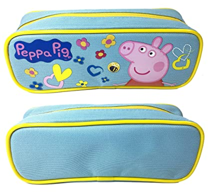 Amazon Com Peppa Pig Pencil Case Pouch Baby Blue Wall Art