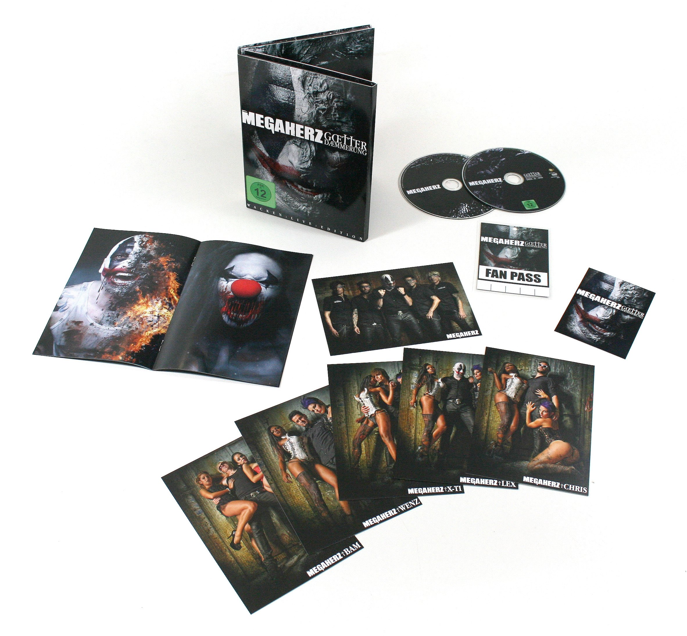 Götterdämmerung - Live At Wacken 2012 [CD+DVD]
