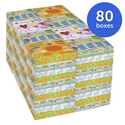 Kimberly-Clark Kleenex 21195 Facial Tissue Junior, White (80 Boxes of 40  Tissues): Amazon.ca: Industrial & Scientific