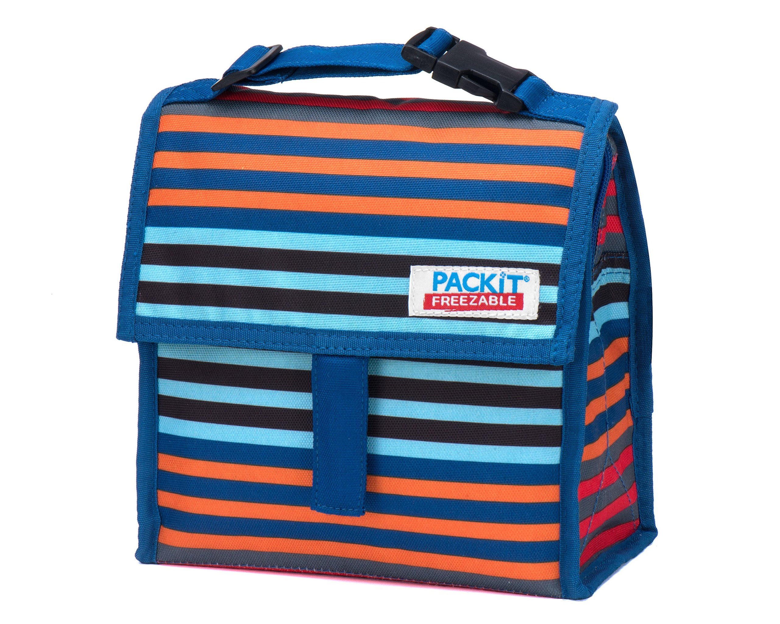 PackIt Freezable Mini Lunch Bag, Cali Stripes