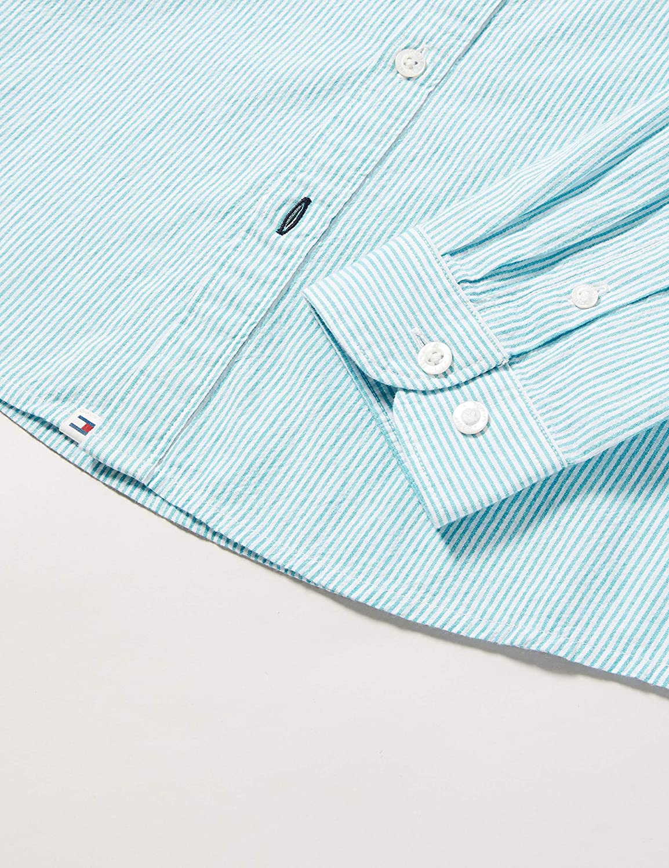 Tommy Hilfiger Boys Seersucker Stripe Shirt L//S