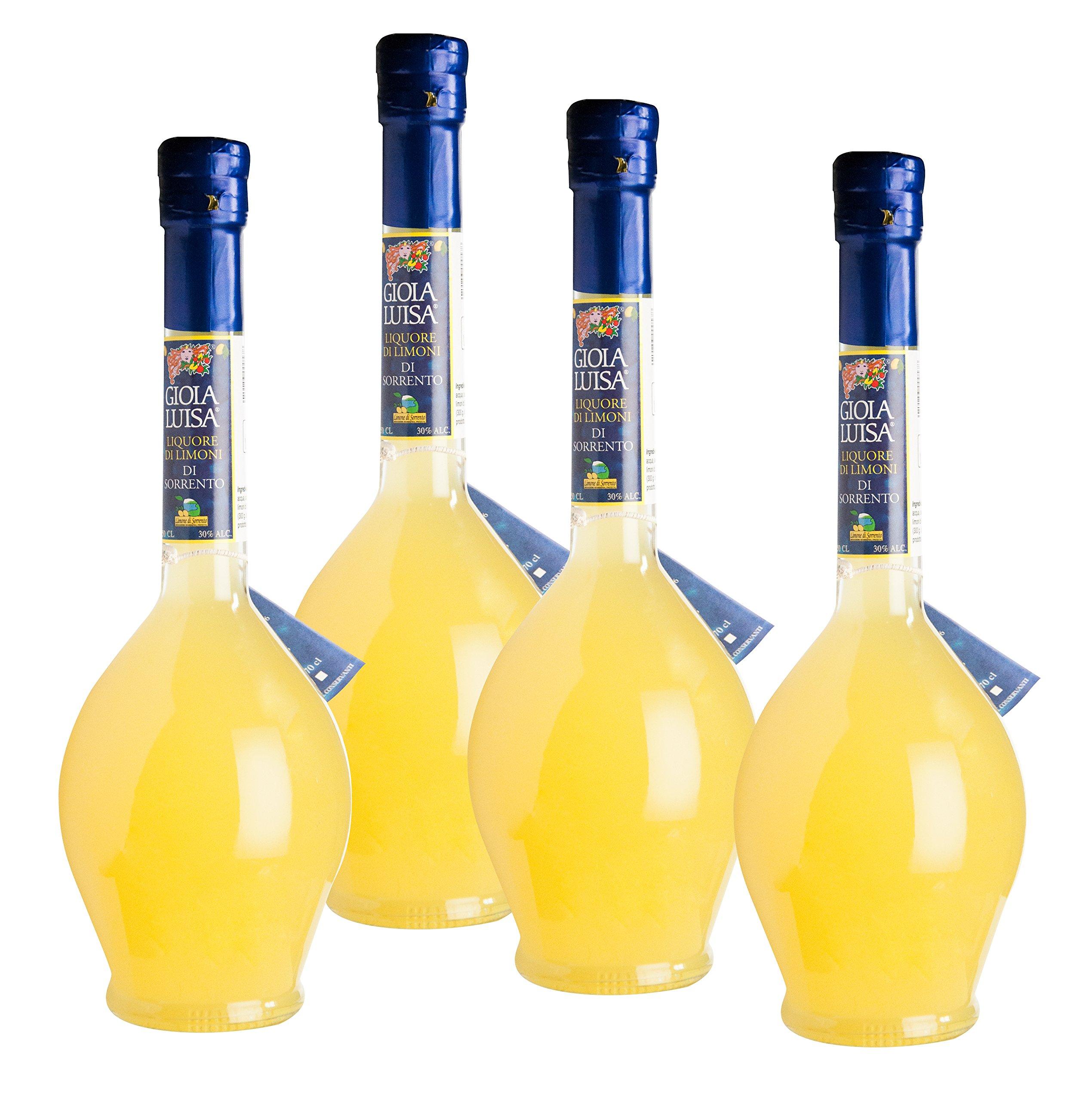Limoncello of Sorrento Gioia Luisa (Pack 4 Bottles) by Gioia Luisa