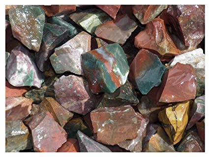 Fundamental Rockhound Products: Rough FANCY JASPER Natural Bulk Rock for  Tumbling, Metaphysical Use, Gemstones Healing Crystals Wholesale Lot from