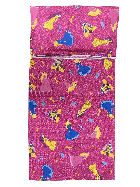 Saco dormir Guardería Verano Princesas Fucsia 2 - 6 años: Amazon.es: Bebé