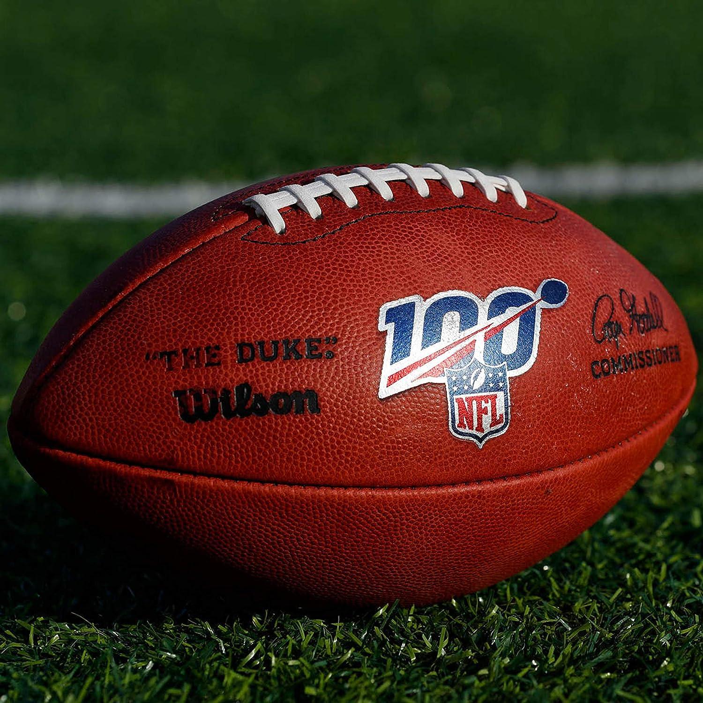 Wilson The Duke - Balón de fútbol Oficial de la NFL - WTF1100ID100 ...