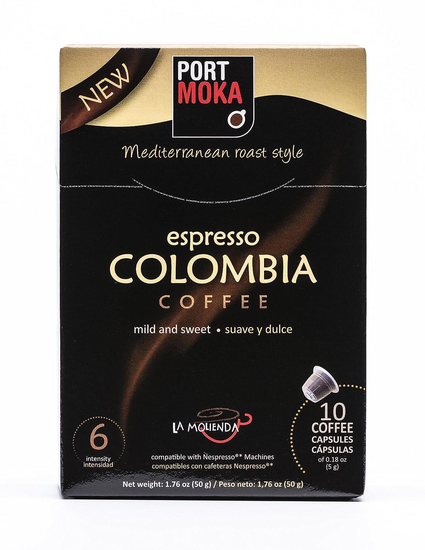 Espresso Colombia Coffee Capsules (Multipack - 60 Pods) Nespresso Compatible Capsules - N-size...