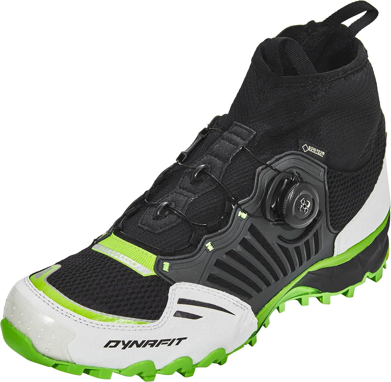 Dynafit Unisex-Erwachsene Un Alpine Pro GTX Traillaufschuhe schwarz-DNA Grün 44 EU