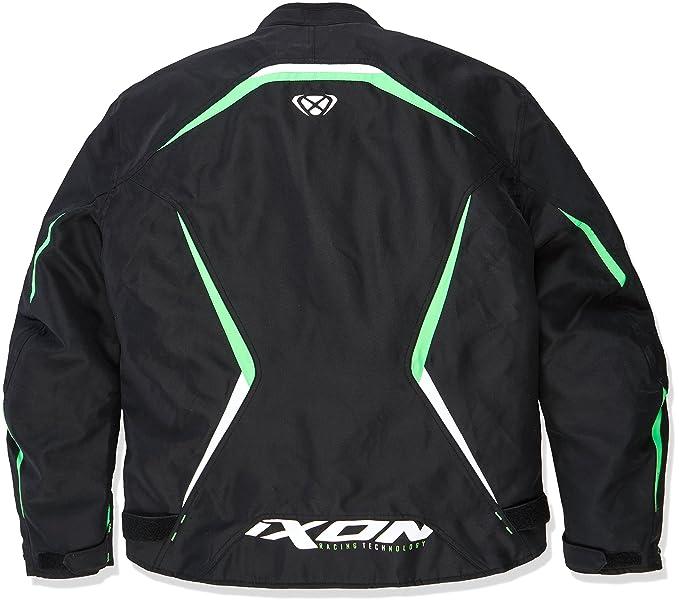Ixon – Chaqueta de moto para Sprinter, negro/verde, talla XXL