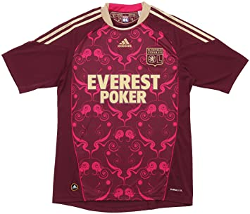 best wholesaler look out for outlet on sale adidas Olympique Lyonnais Shirt OL A JSY AWAY FOOTBALL JERSEY GOLD/BURGUNDY