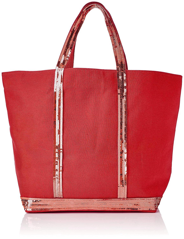 Red (red) VANESSA BRUNO Women's Cabas Moyen+ Tote