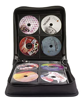 Exponent World - Estuche para CD y DVD (para 240 discos ...
