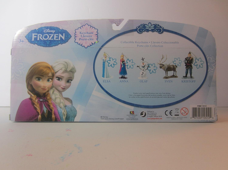 Amazon.com: Monogram International Frozen Set Keyrings ...