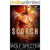 Scorch: M/M Gay Shifter Mpreg Romance (Dragon's Destiny: Fated Mates Book 2)