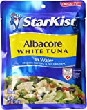 StarKist White Albacore Tuna Pouch in Water, 6.4 Ounce (Pack of 1)