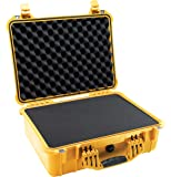 Pelican 1520 Camera Case With Foam (Yellow)