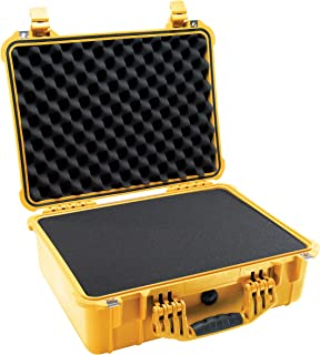 product image for Pelican 1520 Camera Case With Foam (Yellow)