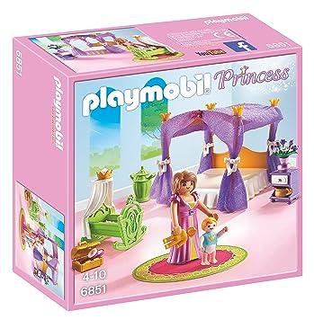 playmobil 6851 jeu chambre de la reine - Playmobil Chambres Princesses