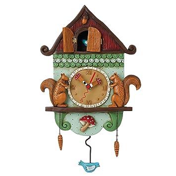 Buy Allen Designs Cuckoo Bird Pendulum Wall Clock Online at Low