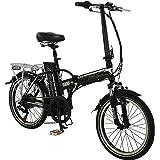 "20"" Fuse Electric BIKE - Suspension Folding e-bike Bicycle FALCON Adults SILVER"