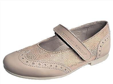 Mädchen Kinder Ballerinas ennellemoo® Echt Leder Schuhe