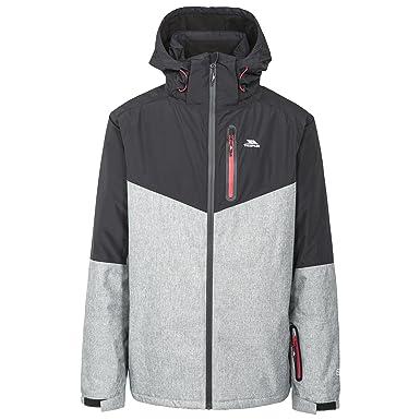 Trespass Mens Bear Waterproof Ski Jacket (XS) (Black)