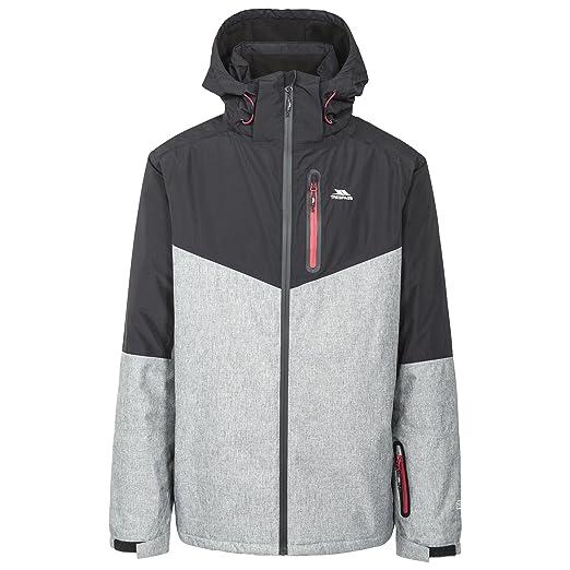 Trespass Mens Bear Waterproof Ski Jacket (XXS) (Black)