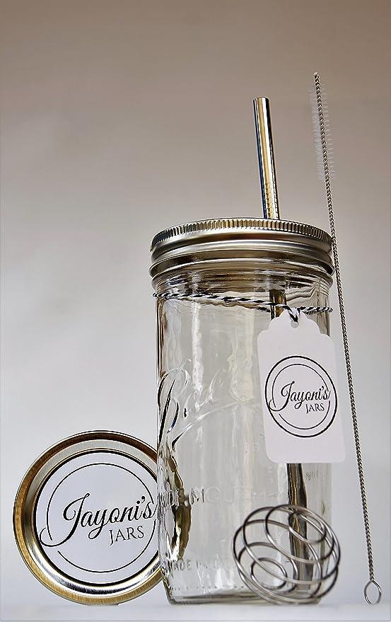 Sporty Jar - Pelota Mason vasos to go, elegante retro Lunch Box ...