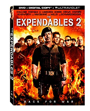 ee9a96485 Amazon.com: The Expendables 2 [DVD + Digital Copy + UltraViolet ...