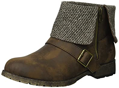 Women's Bentley Graham PU/Pepper Fabric Ankle Boot