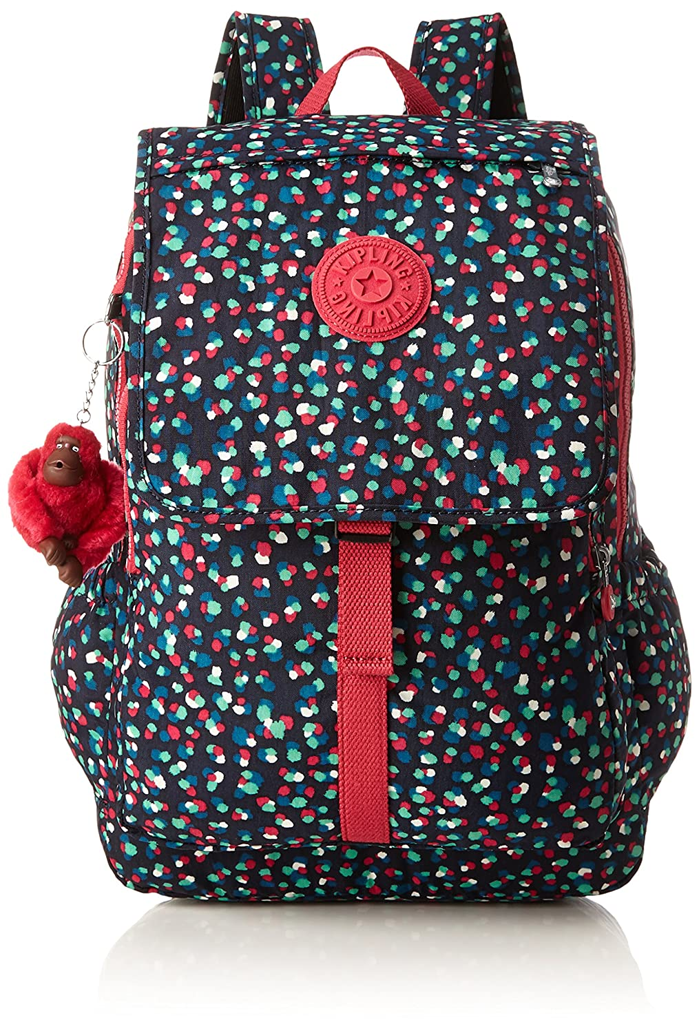 Amazon.com | Kipling Haruko Large Backpack Festive Camo | Casual Daypacks