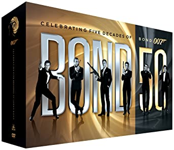 Amazon com: Bond 50 :Celebrating 5 Decades of Bond: Bond 50
