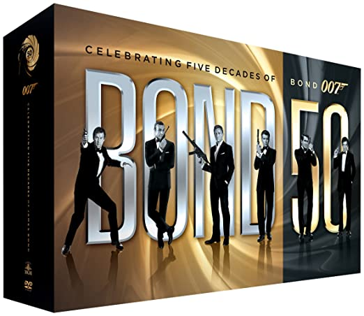 50 Years of James Bond DVD Collection