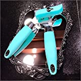 THE BEST CAN OPENER,HEAVY DUTY CAN OPENER,RESTAURANT CAN OPENER CAMPING,MANUAL CAN OPENER,BARTENDER BOTTLE OPENER.JUKITOO-PAMPERED CHEF CAN OPENER SMOOTH EDGE,SWING AWAY CAN OPENER.