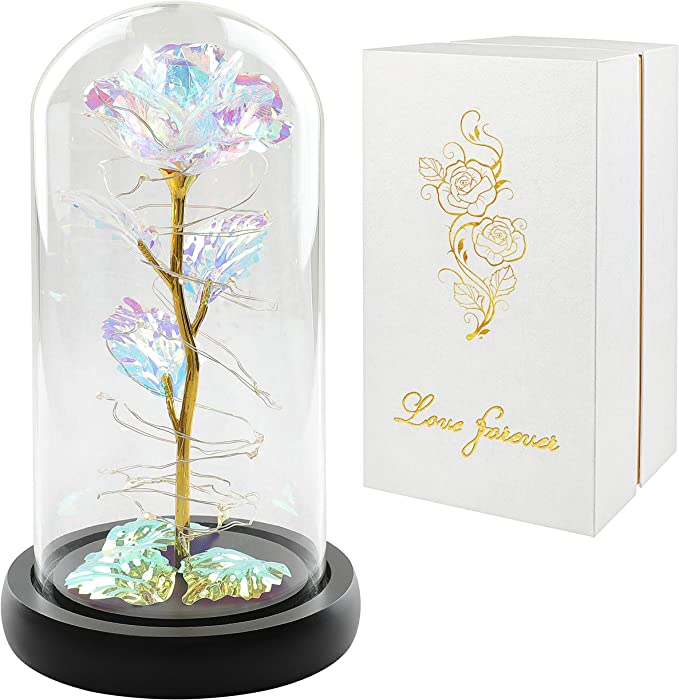 Colorful Artificial Flower Rose Gift