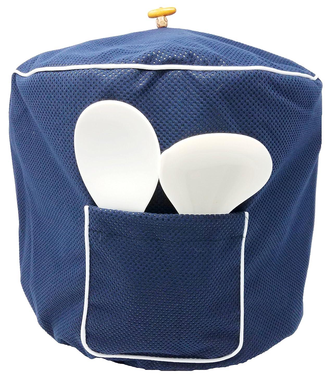 Pressure Cookerダストカバーby Chloeのホーム – 2 in 1 ReversibleカバーFits Instant Pot 6QT ブルー B07C9D1FGL 6QT  6QT