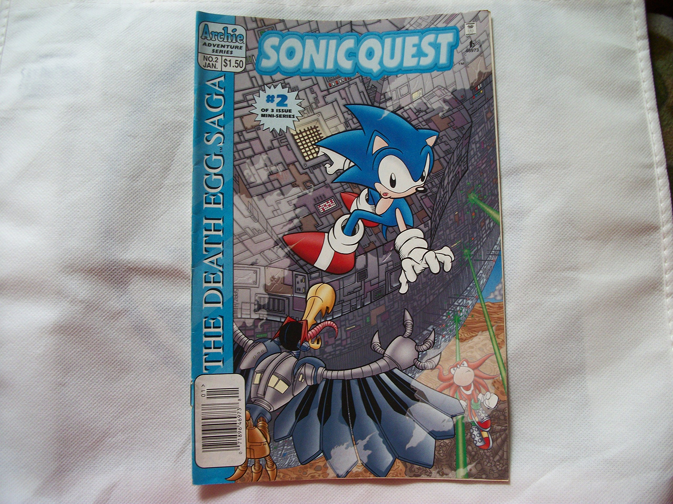 Sonic Quest The Death Egg Saga 2 Sonic The Hedgehog Amazon Com Books