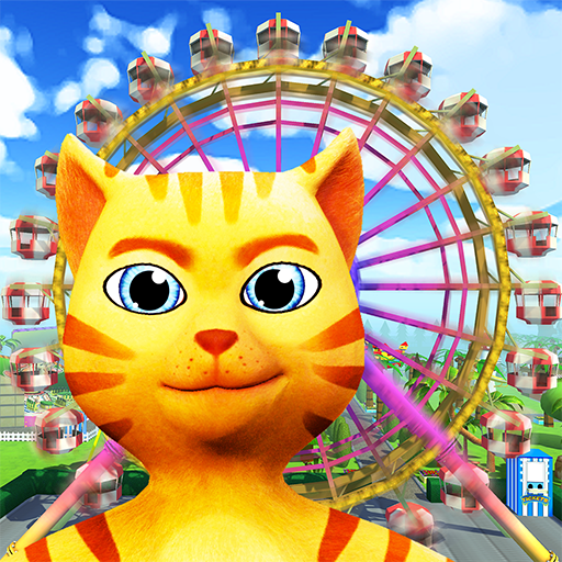 Cat Theme & Amusement Park Fun (Free) (Cat Zoo)