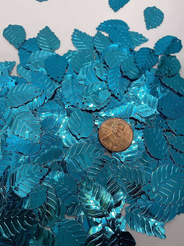 Maple Leaf Gold Color Sequin 50 nos