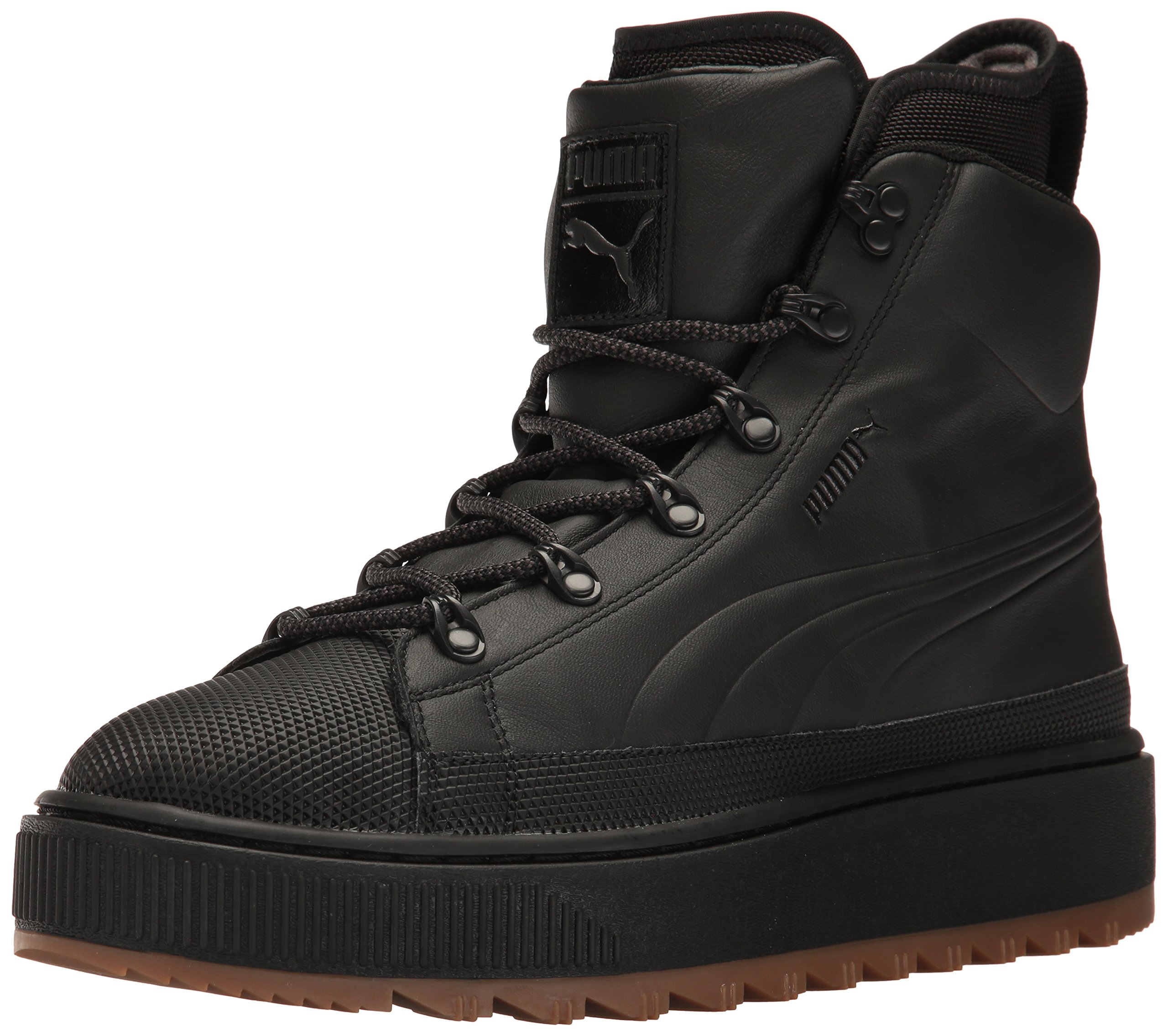 PUMA Men's The Ren Boot Walking Shoe, Black, 8.5 M US