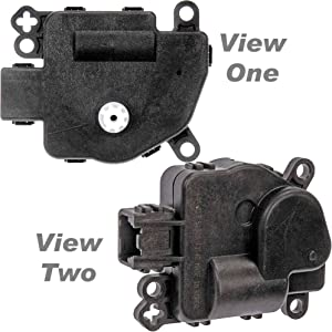 "APDTY 715320 Hybrid Battery Air Blend Door Actuator Motor Fits 2005-2009 Ford Escape Hybrid (Solves No Code""Service Soon"" & Wrench Icon Lights On Dash; See Description) (Ford 8L8Z-19E616-E)"
