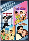 4 Film Favorites: :Elvis Presley Blues: G.I. Blues/ King Creole/ Jailhouse Rock/ Viva Las Vegas (DVD)