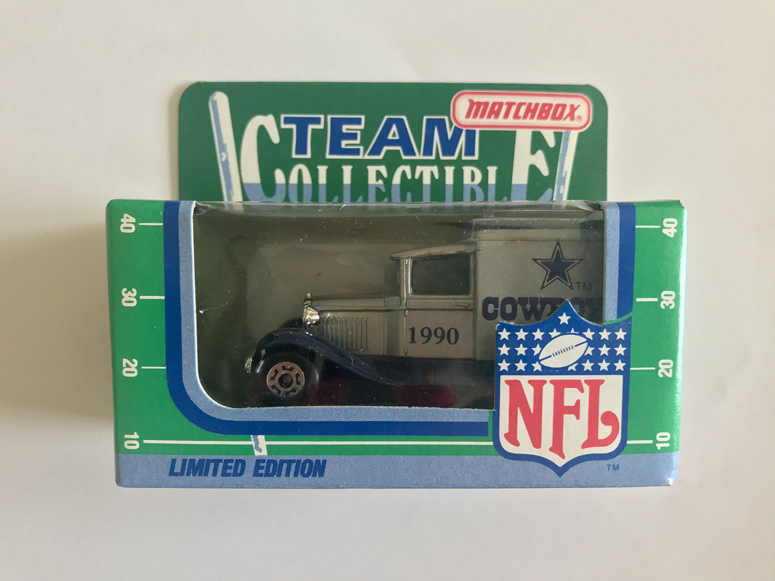 Dallas Cowboys 1990 Matchbox NFL Diecast Ford Model A Truck Collectible Car
